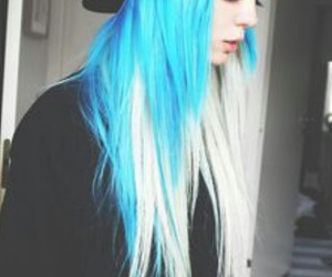 color, hair, and girl image