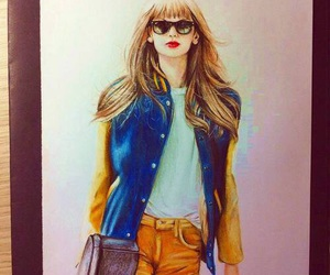 taylor, art, and draw image