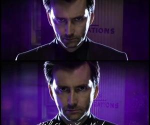 david tennant, evil, and Hot image