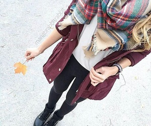 modern, outfit, and style image
