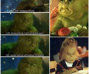 grinch, natale, and verde image