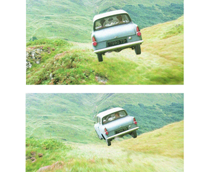 harry potter, car, and chamber of secrets image