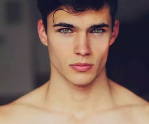 boy, eyes, and sexy image