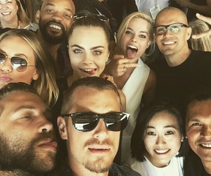 suicide squad, cara delevingne, and will smith image