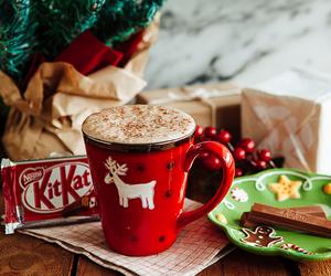 christmas, kitkat, and winter image