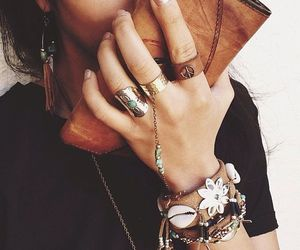 accessories, fashionable, and fashionista image