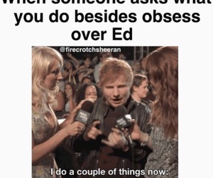 ed, funny, and random image