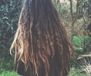 dreads, girl, and hair image