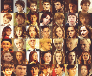 harry potter, j.k. rowling, and hermione granger image