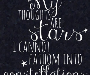 quotes, the fault in our stars, and stars image