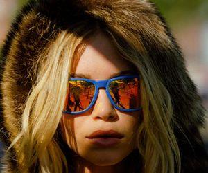 blonde, olsen, and fur image