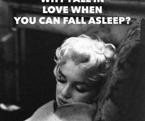 funny, Marilyn Monroe, and sleep image