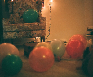 vintage, balloons, and party image