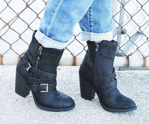 ankle boots, boots, and cute boots image