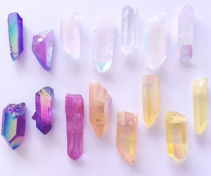 crystal, colors, and gems image