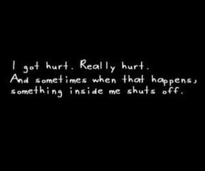 hurt and sad image
