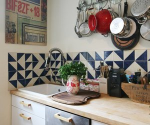 blue, mexican, and tiles image