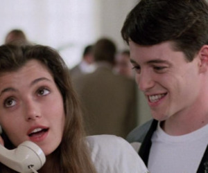 80s, ferris bueller's day off, and sloane peterson image