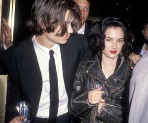 johnny depp, winona ryder, and 90s image