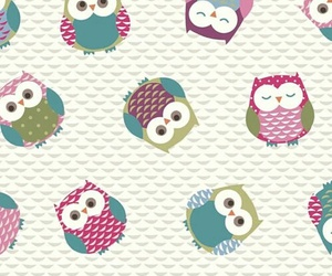 wallpaper, owl, and backgrounds image