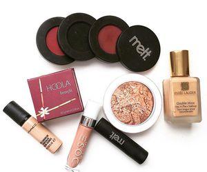 benefit, estee lauder, and lipstick image