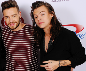liam payne, lirry, and Harry Styles image