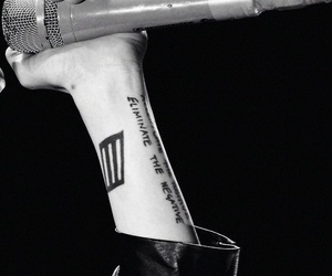 hayley williams, tattoo, and paramore image