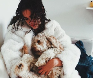maia mitchell, dog, and puppy image