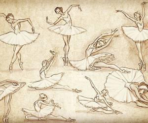 art, beautiful, and dance image