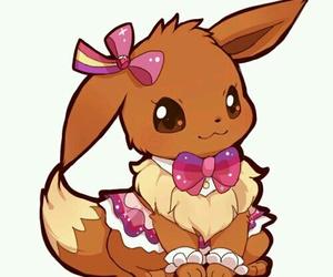 pokemon, eevee, and kawaii image