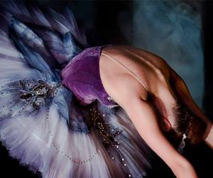 ballet, girl, and purple image