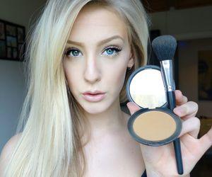 barbie, blue eyes, and blush image