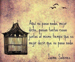 frases, nada, and quotes image