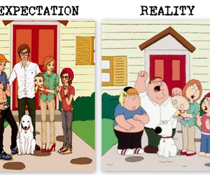 expectations, funny, and reality image