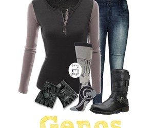 plus size, genos, and one punch man image
