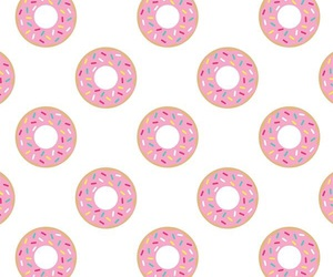 background, donuts, and eat image