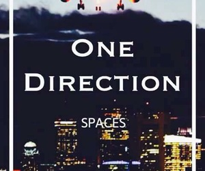 one direction, space, and four image