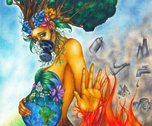 nature, earth, and fire image