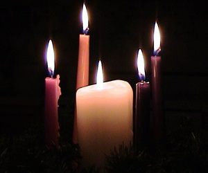 advent, beauty, and candles image