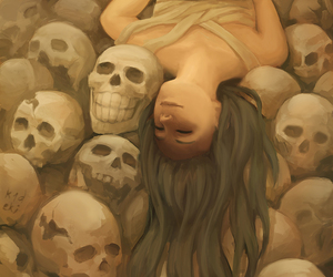 anime, art, and death image