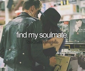 soulmate and bucket list image