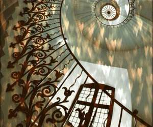 stairs and spiral image