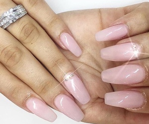 jewelry, follow me, and nail art image