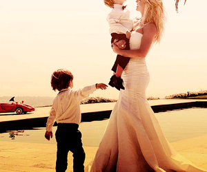 britney spears, wedding, and family image