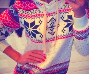fashion, winter, and sweater image