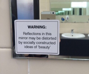 beauty, mirror, and grunge image