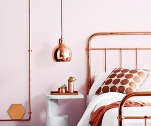 bedroom, copper, and room image