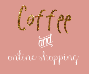 coffee, quotes, and shopping image