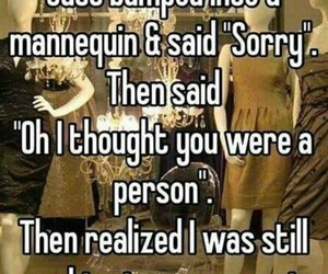 funny and mannequin image