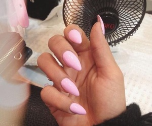 acrylics, stilettos, and adorable image